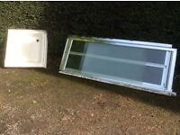 75cm shower tray and bi fold door shower enclosure
