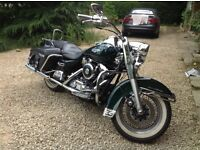 Stunning Harley Davidson Road King, genuine 27,000 miles, new MOT,