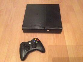 Xbox 360 E 250gb and 7 games
