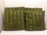 Next Green Cushions x 4