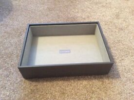 Stackers deep jewellery box in mink