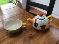 Tea for One - Price & Kensington Teapot with Cup reduced to £3