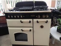 Range master free standing cooker gas and electric