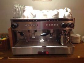 Visacrem nera commercial coffee machine