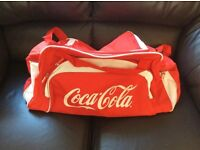 Coca Cola vintage retro hold-all gym bag