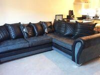 DFS Deluxe Corner Sofa Bed