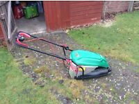 QUALCAST electric lawnmower VERY GOOD CONDITION