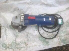 "Used Hilka 4 1/2"" angle grinder"