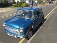 Classic mini ( little blue) loads of new parts full service mot till aug 18 On the road ready to go