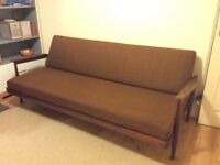 Vintage Danish style daybed/sofa by British designer Guy Rogers.1962 'Manhattan' sofa.original cover