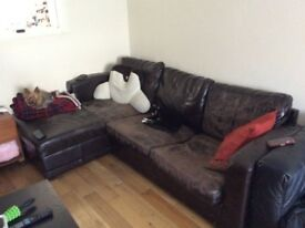 2x sofa for sale- Woking