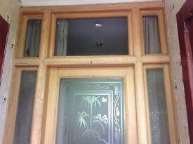 External door with original Edwardian glass