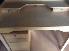 Ikea Desk - Beech Colour