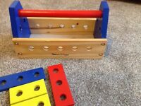 Sell a child wooden tool box