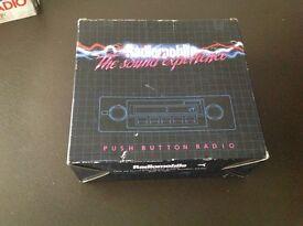 Car radio brand new