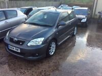 Toyota Corolla T sport parts 01 to 07 models