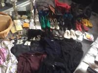 Job lot - clothes/shoes/bags etc