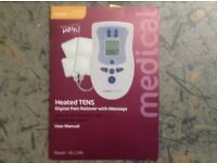 Heated Tens Machine (Pain reliever with massage)