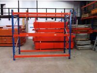 PLANNED STORAGE P85 HEAVY DUTY COMMERCIAL WAREHOUSE PALLET RACKING BAY UNIT