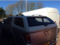 Mitsubishi L200 long bed canopy