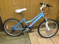 Girls bike. Age 10-13 or around 5ft tall, excellent condition. Kept indoors . Only used a few times