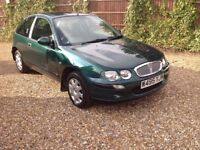 Very Low mileage rover 25 2000 w reg