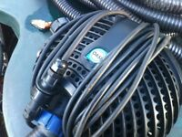 Oase Aquamax 16000 Pond Pump and Cyprio filter box