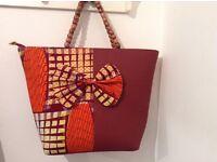 Handmade African Print Women's handbag