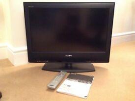 "Sony Bravia 26"" TV slimline flat screen LCD digital"