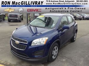 2014 Chevrolet Trax LS..$106 Bi-Weekly..Turbo..Low KM's, One Own