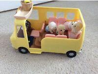 Sylvanians Family Nursery School Bus
