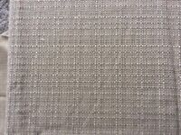 Beige Woven Look Fabric Length Suitable For Cushions/Upholstery. New
