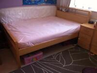 """Wooden Double Bed Frame 4ft 6"""""""