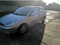 Ford Focus 1.6 zetec 50000 miles very low cheap Quick sale