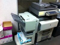 Konica Minolta Bizhub C450 Full Colour Photocopier, including Booklet Staple Finisher