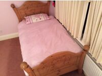 Princess bed and matching chest of draws
