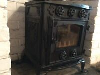 Woodburner, multifuel, 4kw, good working condition.