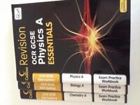 OCR GCSE Science revision guide/workbooks