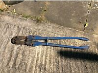 Huge bolt cropper,made by Record,very expensive new,3 foot long!