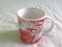 Disney Pixar Cars Child's Ceramic Mug
