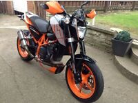 KTM DUKE 690 ABS 12 Months MOT GPR exhaust and lots of extras (Not Buell, MT 07)