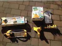 Various Hozelock Sprinklers and Multi Tap