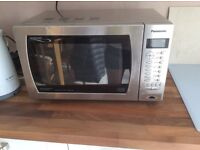 Panasonic MICROWAVE Inverter Dimension 4 Stainless Steel with Turbo Bake & Catalytic Clean 1000W
