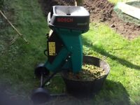 Bosch garden Shredder. Good reliable make and in good condition.