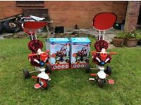 2 x Smartrikes for sale in Red & dark brown excellent condition