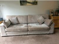 Large four seater settee