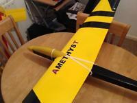 Amethyst Rc plane/glider/aircraft/aeroplane