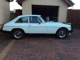 ****43 YEAR OLD CLASSIC MGB GT OVERDRIVE*****