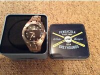 Fossil watch, stainless steel, with box