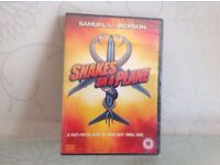 Snakes on a plane DVD .Brand new still wrapped £2.00